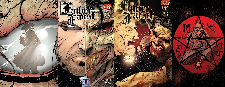 Father Faust Collage